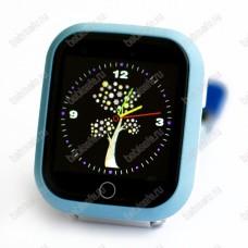 Детские часы телефон с gps трекером GW200S голубые
