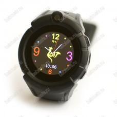 Детские часы телефон с gps трекером GW600 Wonlex Smart baby watch Q360 черные