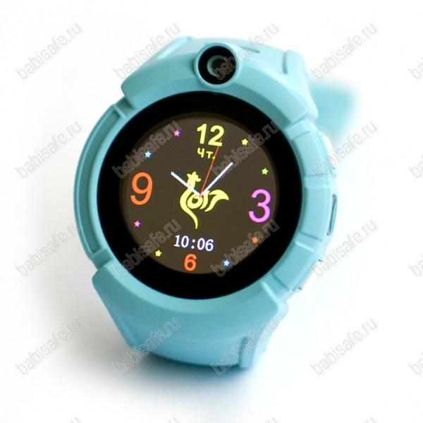 Детские часы телефон с gps трекером GW600 Wonlex Smart baby watch Q360 голубые