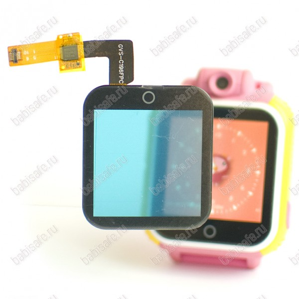 Замена стекла в детских часах smart baby watch GW1000