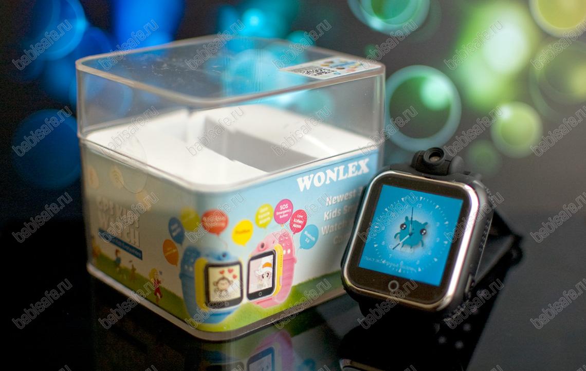 Детские часы телефон с gps трекером Wonlex GW1000