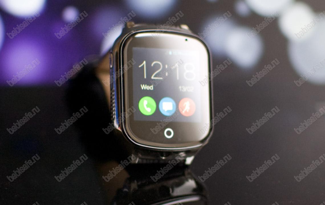 Часы телефон с gps трекером GW1000S Wonlex