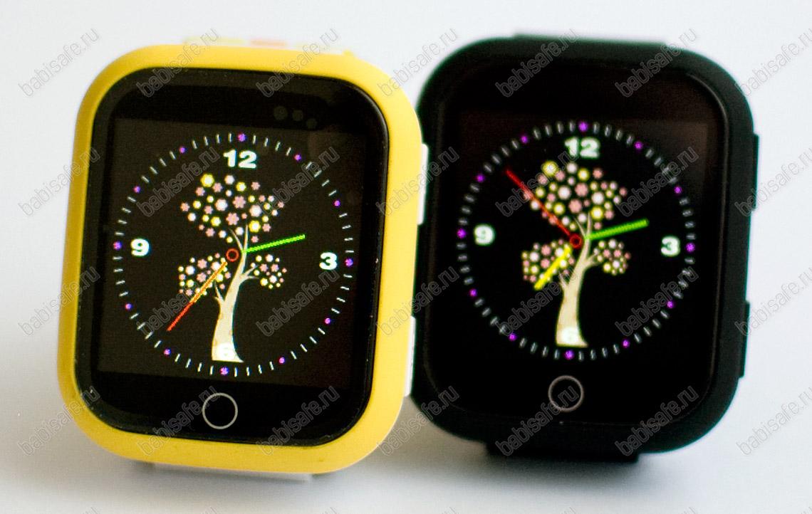 Детские часы телефон с gps трекером GW200S