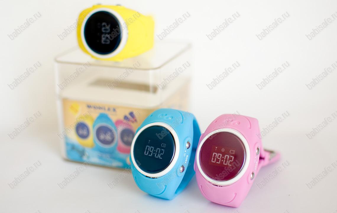 Детские водонепроницаемые часы Wonlex GW300S