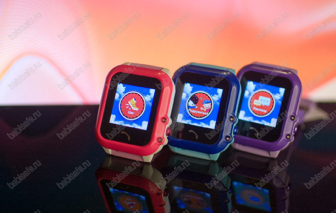 Детские водостойкие часы телефон с gps трекером GW400E