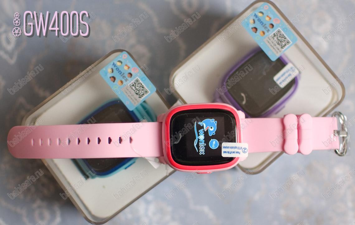 Водонепроницаемые сенсорные часы телефон Wonlex GW400S