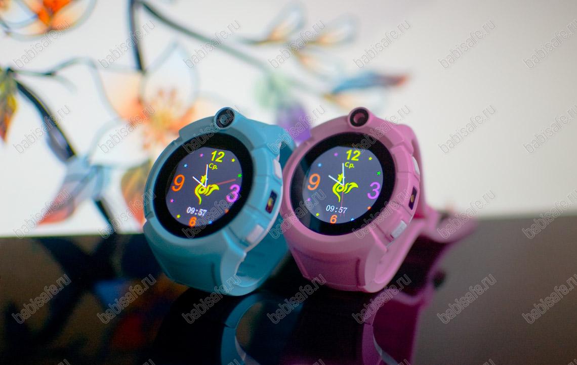 Детские часы телефон с gps трекером GW600, Q360