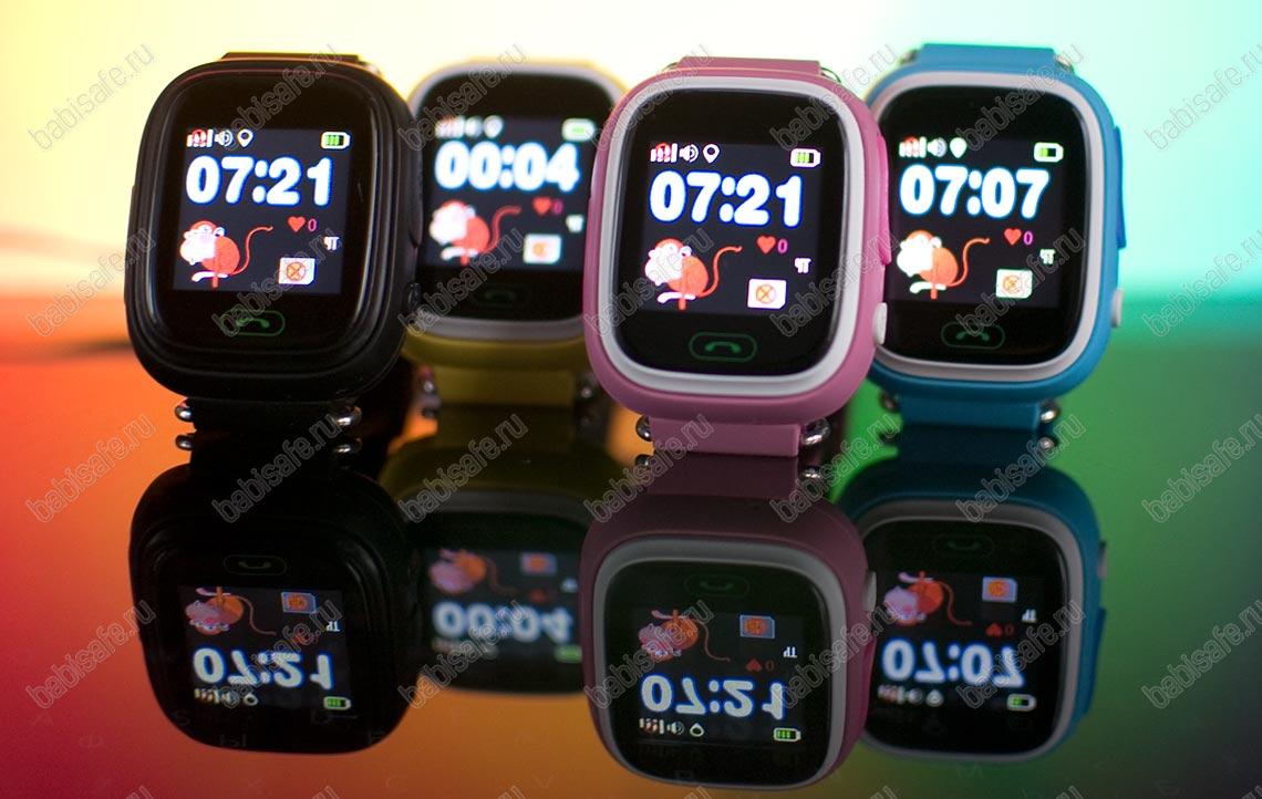 Детские часы с gps трекером Q80 (GW100)