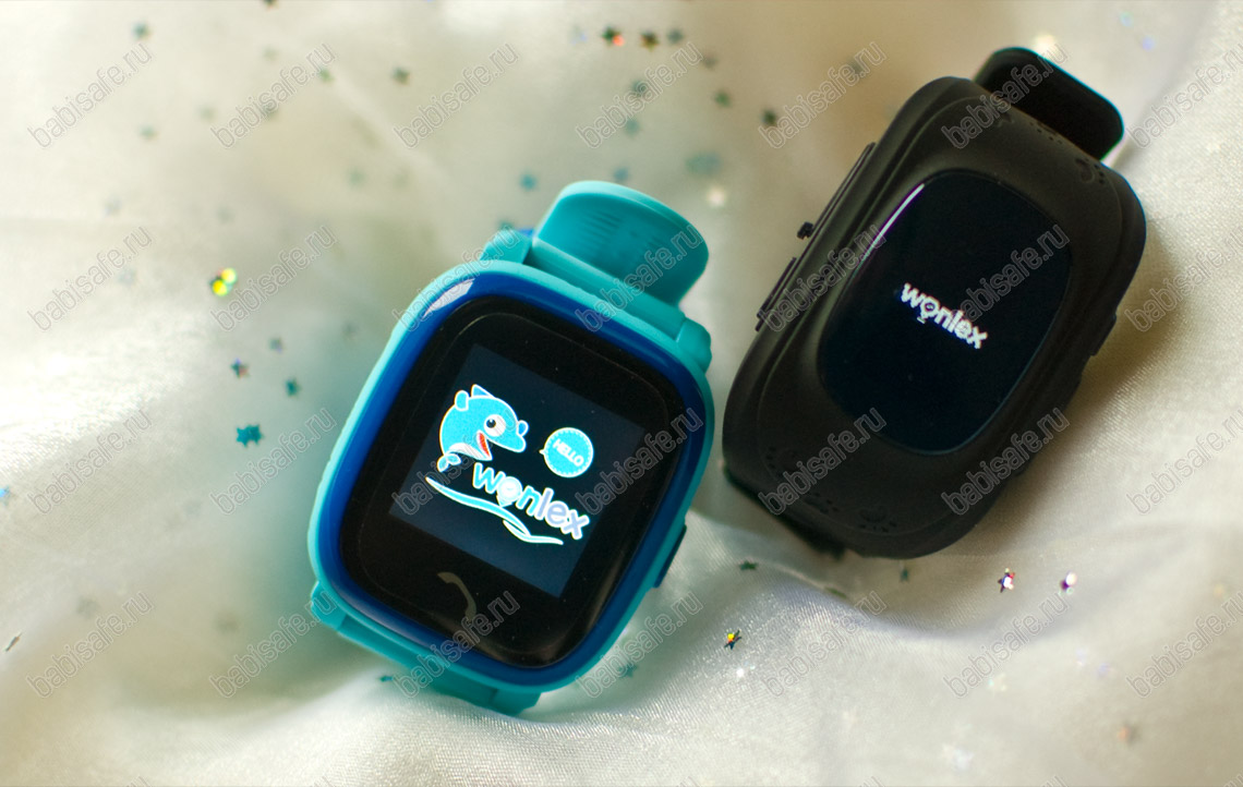 Часы телефон с gps трекером от Wonlex