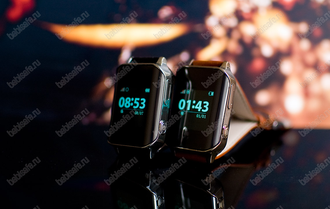 Часы телефон с gps трекером и пульсометром EW200 Wonlex