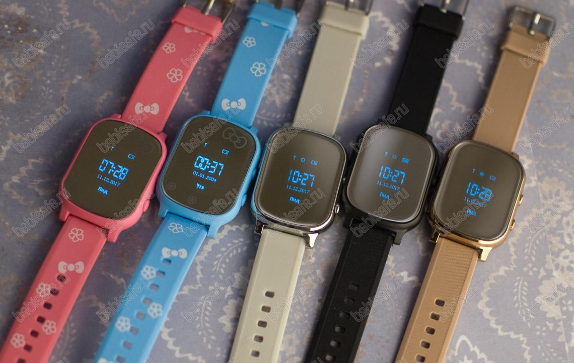 Детские часы телефон с gps трекером GW700 Wonlex
