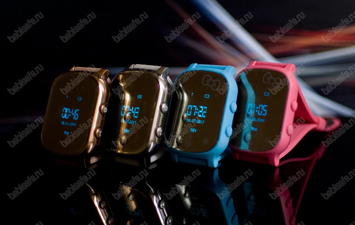 Детские часы телефон с gps трекером GW700 по-другому Т58